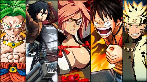 anime in photos 5 videojuegos para amantes anime