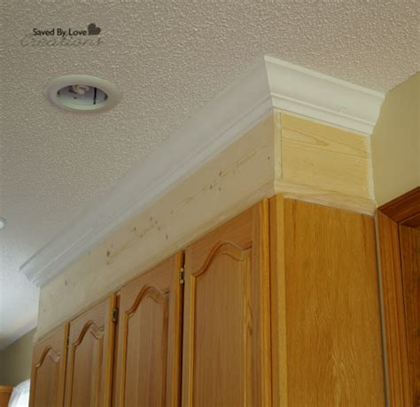 crown molding on top of cabinets diy kitchen cabinet upgrade with paint and crown molding