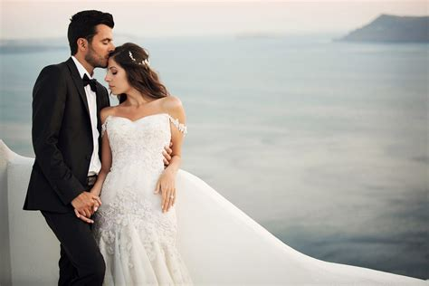 Santorini Wedding Photographer Vangelis  Athens Greece