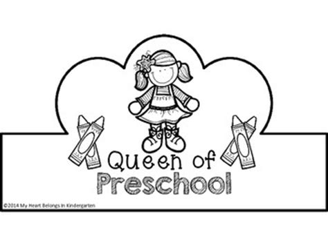 preschool crowns  week  school   school tpt