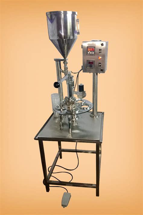 foot operated cup sealing machine mumbai india