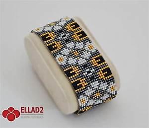 Miyuki Delica Beads Color Chart Loom Bracelet Pattern Beading Patterns Ellad2
