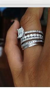 New wedding ring trend stacked rings arabia weddings for Stacked wedding rings trend