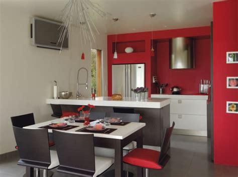 d馗oration cuisine ouverte aménagement cuisine ouverte sur salon cuisine en image
