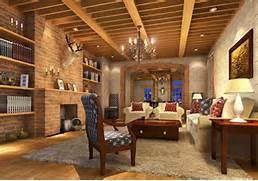 Brick Wall Interior House Pop Brick Walls Design Dining Room Pastoral Style South ROK 3D House