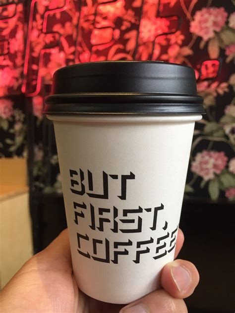 Great way to engage and find humor.in coffee. Alfred Coffee Silverlake - Los Angeles, CA, United States. But first coffee!!   Alfred coffee ...
