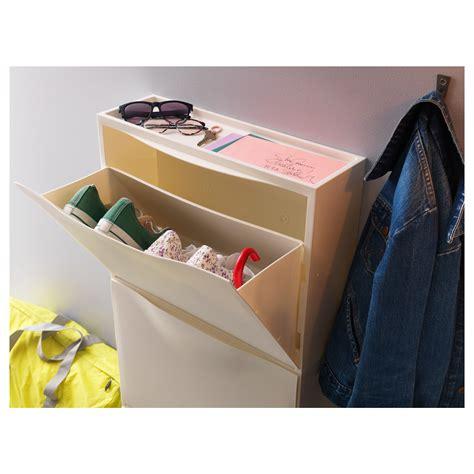 white shoe storage cabinet trones shoe cabinet storage white 51x39 cm ikea