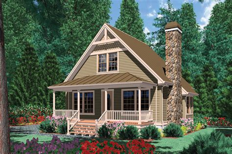 Narrow Cottage Plans by Cottage Plan 950 Square 1 Bedroom 1 Bathroom