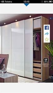 Ikea Pax Schranktüren : pax with f rvik doors white stained oak effect white glass new bedroom pinterest schrank ~ Eleganceandgraceweddings.com Haus und Dekorationen