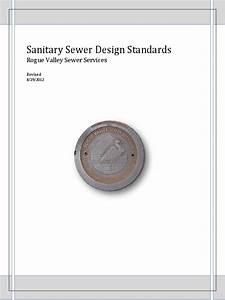 Sanitary Sewer Design Standards