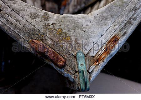 Bow Of Old Boat by Old Wooden Rowing Boat Bow In Malta Stock Photo Royalty