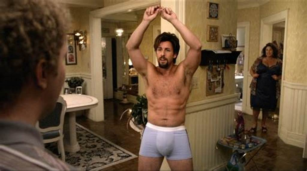 #Adam #Sandler #I #Could #Pardon #His #Zohan #Bulgebut #Not #His