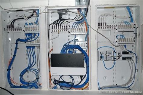 Home Ethernet Wiring Network by Centrally Located Home Network Wiring Closet Allows