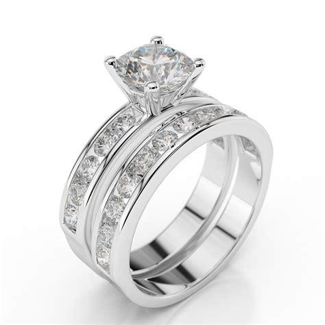 swarovski pb wedding bridal enchantment premier 1 carat 1 00ct cut in 14k white