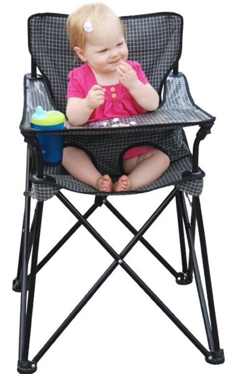 Ciao! Baby Portable High Chair  So Cool For Camping