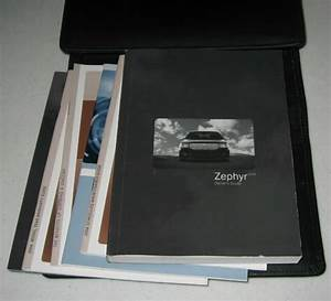2006 Lincoln Zephyr Owners Manual Set Guide 06 W  Case