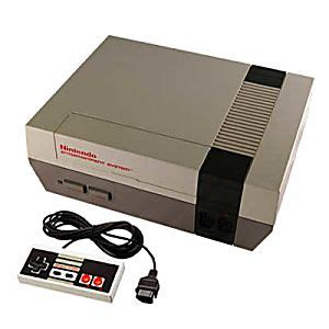 Original Nintendo Console by Buy An Original Nes Nintendo System Console Refurbished
