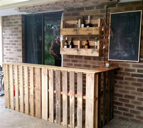 wooden patio bar ideas 50 best loved pallet bar ideas projects