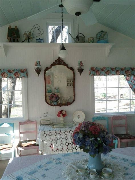 shabby chic ceiling vaulted ceiling love it decorating shabby chic pinterest shabby shabby cottage