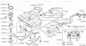 Nissan Almera N16 Fuel Filter Location