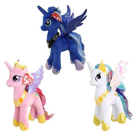 ty beanie babies   pony set   princess