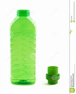 Photo Of Green Plastic Bottle Stock Image