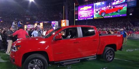 Super Bowl Mvp Got A New Chevrolet Colorado