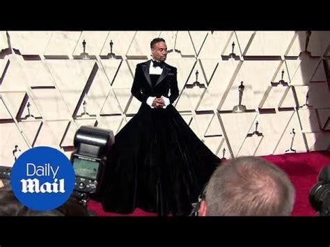 Strike Pose Billy Porter Stuns Tuxedo Gown