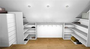 Petite Penderie Ikea : 5 exemples de dressing sur mesure sous pente toutankhamon expo fr ~ Teatrodelosmanantiales.com Idées de Décoration