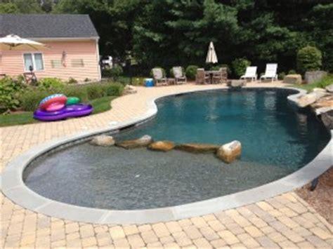 pool coping dynasty gunite fiberglass pools