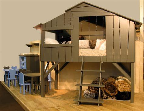 cabane de chambre un lit cabane dans la chambre de votre enfant le