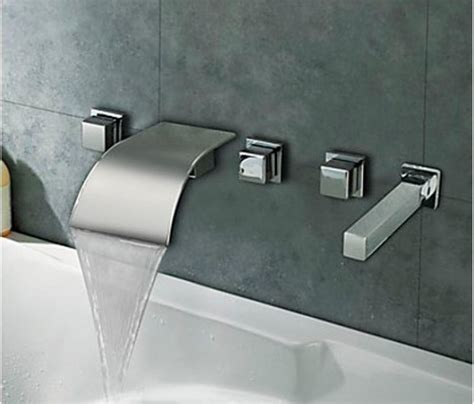 Wall Mounted Waterfall Faucets Bathroom by New Style Cheap Wholesale And Retail Promotion Wall