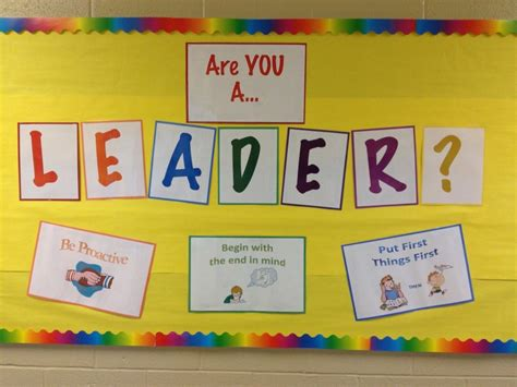 Leader In Me Bulletin Boards