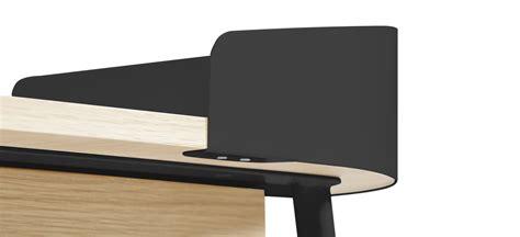 bureau gris anthracite bureau victor gris anthracite bois naturel hartô
