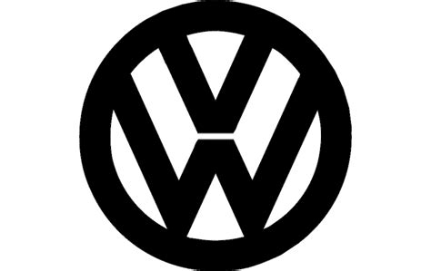 volkswagen logo black and white vw logo dxf file free download 3axis co