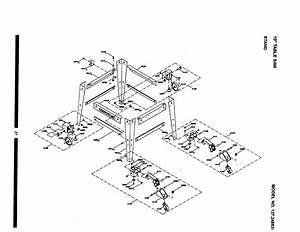 Craftsman 10 U0026quot  Table Saw Motor Parts
