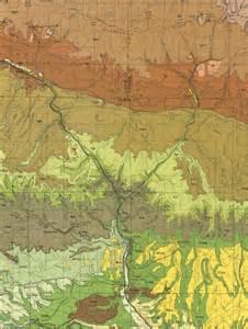 Henry Mountains Utah Map