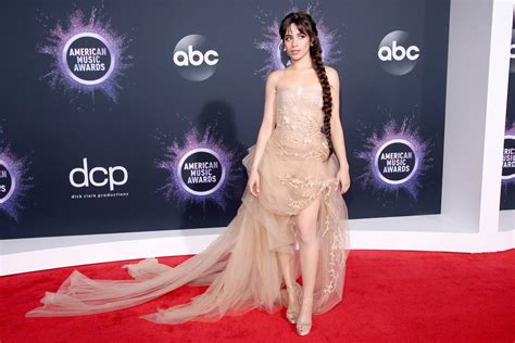 Camila Cabello Tulle Dress The American Music Awards