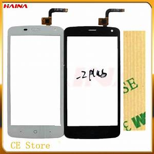 5 0 Inch New Touchscreen Panel For Zte Blade L2 Plus  L370 L2plus Touch Screen Digitizer Panel