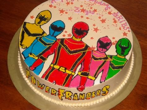 power ranger cakes decoration ideas  birthday cakes