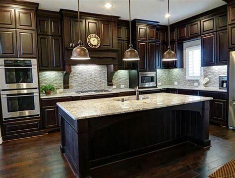 25 Traditional Dark Kitchen Cabinets  Dark, Kitchens And
