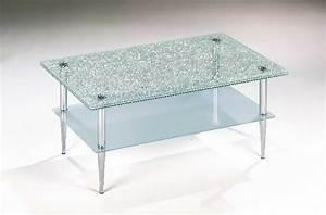 Design couchtisch tisch glastisch crashglas 1b ebay for Crashglas tisch