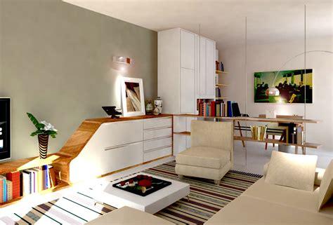 mensole salotto ricavare in soggiorno una zona studio e tanto spazio per