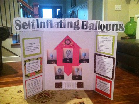 Inflating Balloon Science Fair Project Bing Images