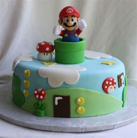 20 Best Super Mario Cakes Images On Pinterest Video