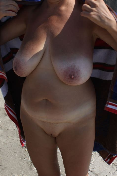 14 Porn Pic From Saggy Shaved Big Tits Wife Braless