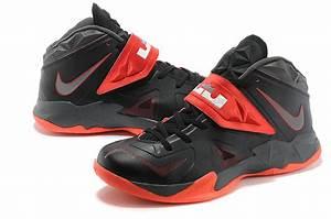 "Lebron Nike Zoom Soldier VII(7) ""Miami Heat Away"" Black ..."