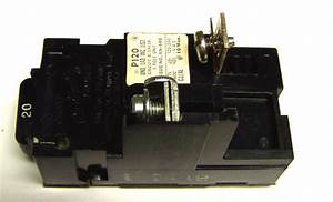 Pushmatic Bulldog Circuit Breakers    P120 Or 31120     1p