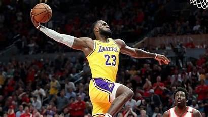 Lebron James Dunk Lakers Nba Dunks Season