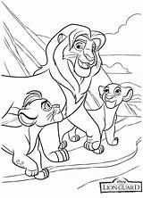 Coloring Lion Guard Popular sketch template